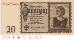 Image #1 of 20 Reichsmark 1939 (16. VI.)