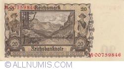 Image #2 of 20 Reichsmark 1939 (16. VI.)