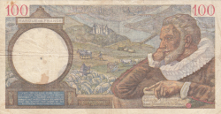 Image #2 of 100 Francs 1939 (28. XII.)