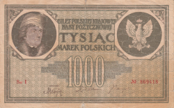 Image #1 of 1000 Marek 1919 (17. V.)