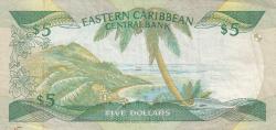 Image #2 of 5 Dolari ND (1986-1988)