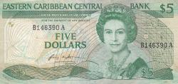 Image #1 of 5 Dolari ND (1986-1988)