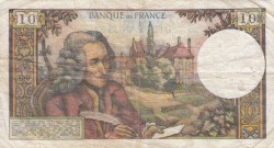 Imaginea #2 a 10 Franci 1973 (5. IV.)