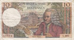 Image #1 of 10 Francs 1973 (5. IV.)