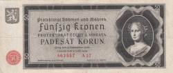 50 Korun 1940 (12. IX.)