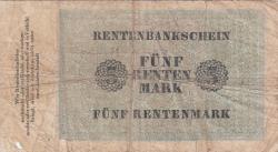 Imaginea #2 a 5 Rentenmark 1923 (1. XI.)