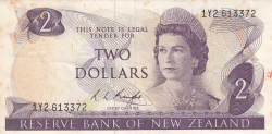 Image #1 of 2 Dollars ND (1975-1977)