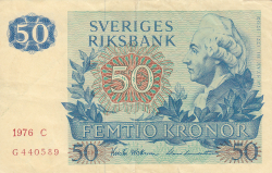Image #1 of 50 Kronor 1976