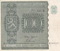 Imaginea #1 a 100 Markkaa 1945 (1948)