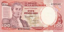 Image #1 of 100 Pesos Oro 1990 (1. I.)