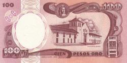 Image #2 of 100 Pesos Oro 1990 (1. I.)