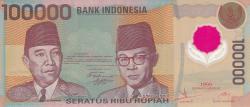 Image #1 of 100,000 Rupiah 1999
