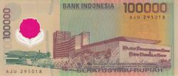 Image #2 of 100,000 Rupiah 1999