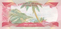 Image #2 of 1 Dolar ND (1985-1988)
