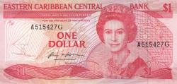 Image #1 of 1 Dolar ND (1985-1988)