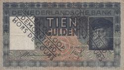 Imaginea #1 a 10 Gulden 1938 (12. X.) - demonetized