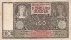 Imaginea #1 a 100 Gulden 1941 (3. V.)
