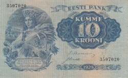 10 Krooni 1928
