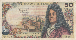 Image #1 of 50 Francs 1962 (8. XI.)