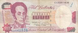Imaginea #1 a 1000 Bolivares 1994 (17. III.)
