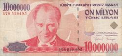 Imaginea #1 a 10 000 000 Lira L.1970 (1999)