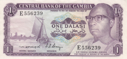 Imaginea #1 a 1 Dalasi ND (1971-1987)