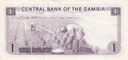 Imaginea #2 a 1 Dalasi ND (1971-1987)