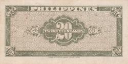 Image #2 of 20 Centavos ND (1949)