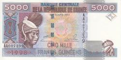 Image #1 of 5000 Francs 1998