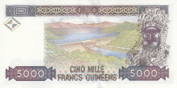 Image #2 of 5000 Francs 1998