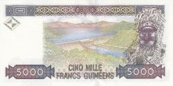 Image #2 of 5000 Francs 1998