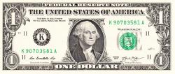 Image #1 of 1 Dollar 2013 - K