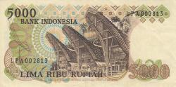 Image #2 of 5000 Rupiah 1980