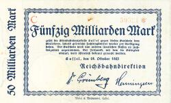 Image #1 of 50 Milliarden Mark 1923 (24. X.)