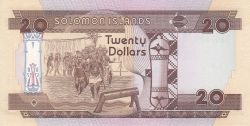 Image #2 of 20 Dollars ND (1986)