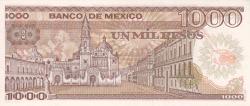 Image #2 of 1000 Pesos 1985 (19. VII.) - Serie XM