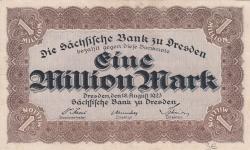 Image #1 of 1 Million (1 000 000) Mark 1923 (18. VIII.)