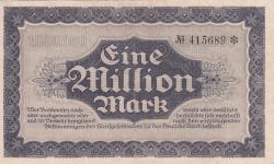 Image #2 of 1 Million (1 000 000) Mark 1923 (18. VIII.)