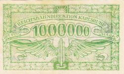 Image #2 of 1 Million (1 000 000) Mark 1923 (10. VIII.)