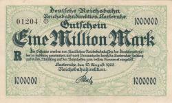 Image #1 of 1 Million (1 000 000) Mark 1923 (10. VIII.)