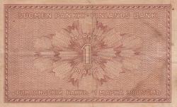 Imaginea #2 a 1 Markka 1916 - semnături Clas von Collan / Thesleff