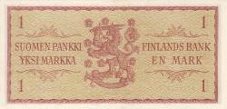 Image #2 of 1 Markka 1963 - signatures Valvanne / Luukka