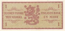Image #2 of 1 Markka 1963 - signatures Leinonen / Tornroth
