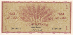 Image #1 of 1 Markka 1963 - signatures Leinonen / Tornroth