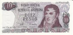 Image #1 of 10 Pesos ND (1976)