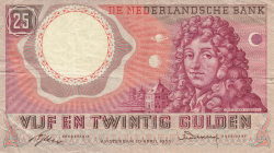 Image #1 of 25 Gulden 1955 (10. IV.) - replacement