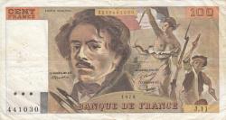 Image #1 of 100 Francs 1979