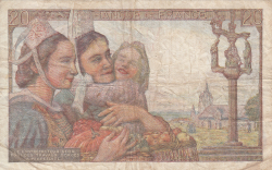 Image #2 of 20 Francs 1944 (17. V.)