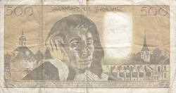 Image #2 of 500 Francs 1990 (5. VII.)