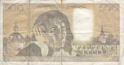 Imaginea #2 a 500 Franci 1990 (5. VII.)